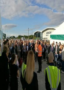stewards & marshals for Crewe events
