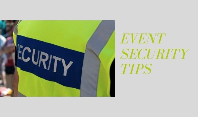 Event Security Tips