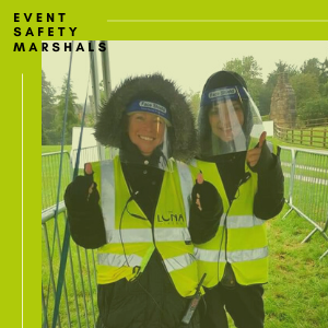event safety marshals Leeds
