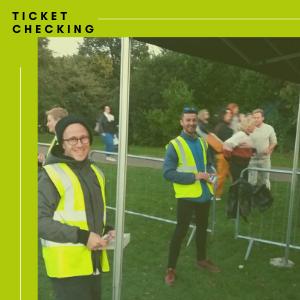 ticket checking stewards