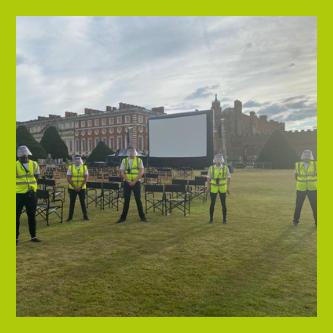 Staffordshire outdoor event stewards